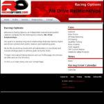 """""""Website Design Racing Options"""""""